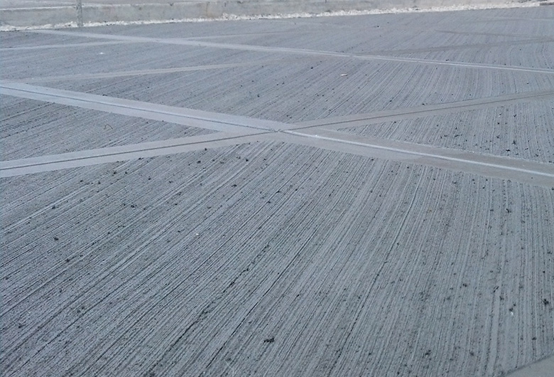 Nationwide Concreting - brush finish