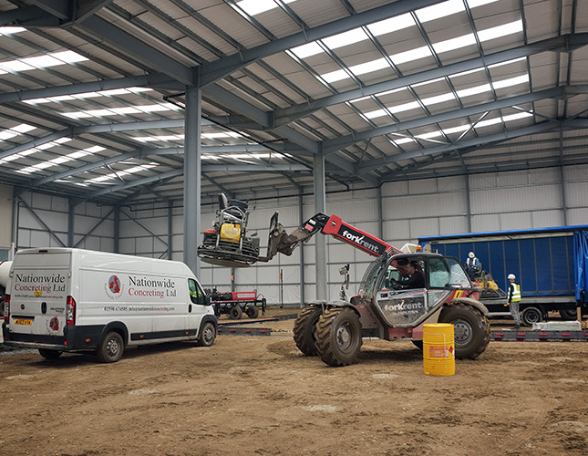 Industrial Concrete Finishing In York
