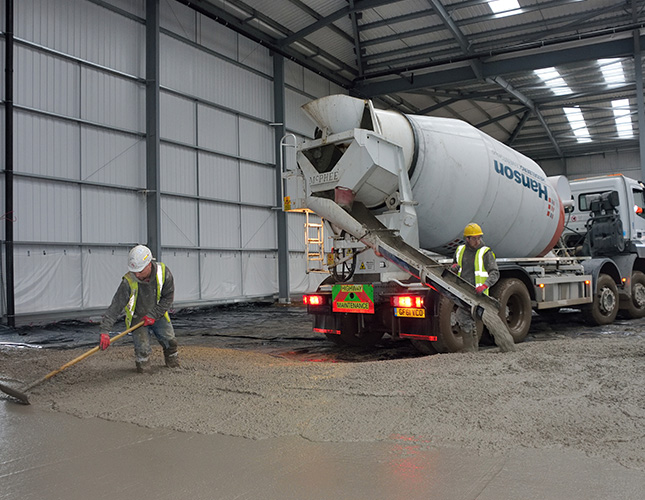 Industrial Concrete Finishing In Wolverhampton