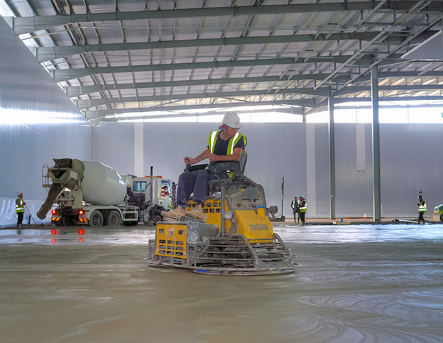 High Tolerance Concrete Flooring Contractors in Plymouth