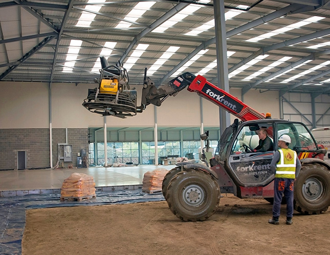 High Tolerance Concrete Flooring Contractors in Bradford