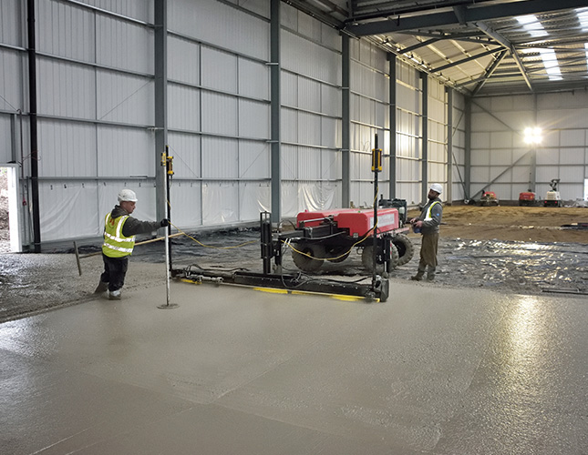 High Tolerance Concrete Flooring Contractors in Cardiff