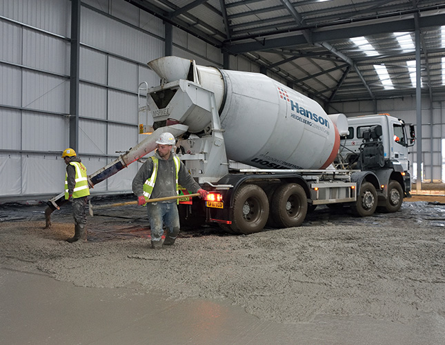 Industrial Concrete Finishing In Southampton