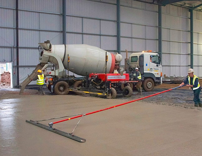 Industrial Concrete Finishing In Cardiff