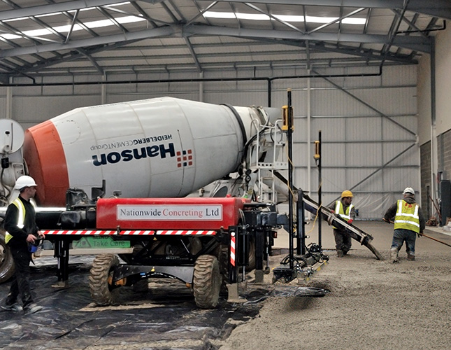 Industrial Concrete Finishing In Bath