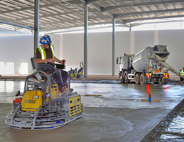 Nationwide Concreting - finishing