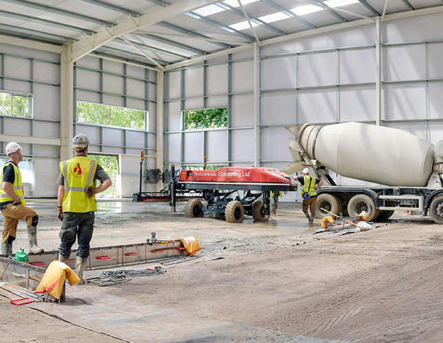 Nationwide Concreting - levelling