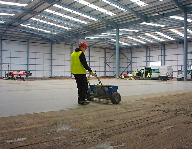 High Tolerance Concrete Flooring Contractors in Birmingham