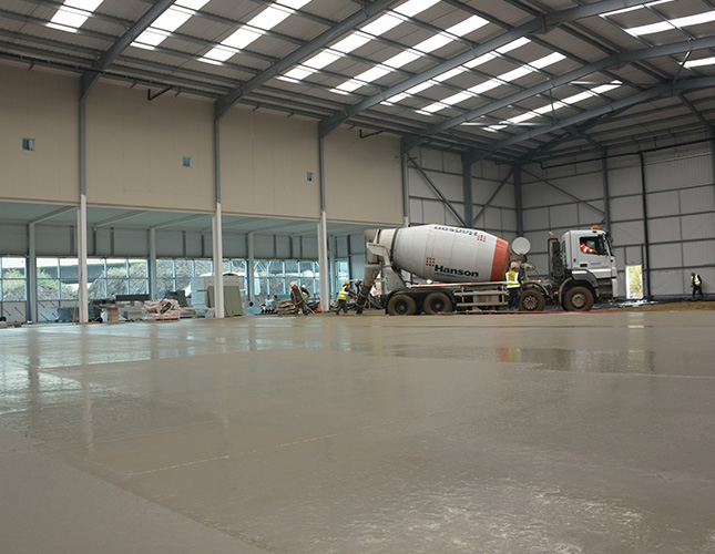 High Tolerance Concrete Flooring Contractors in Lincoln