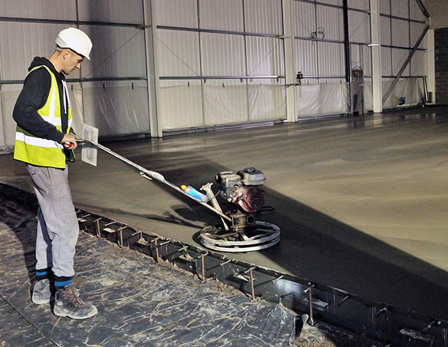 High Tolerance Concrete Flooring Contractors in Nottingham