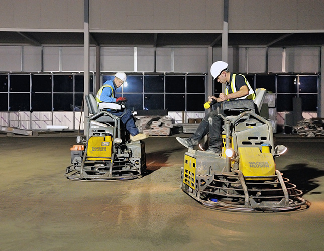 High Tolerance Concrete Flooring Contractors in York