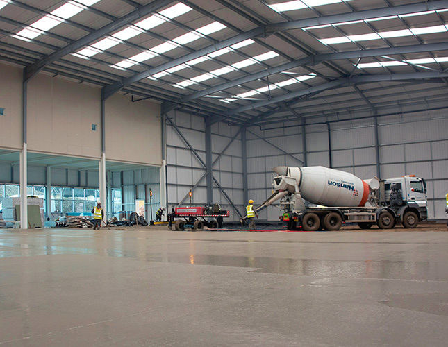 Industrial Concrete Finishing In Birmingham