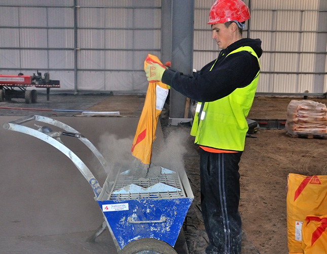 Industrial Concrete Finishing In Chesterfield