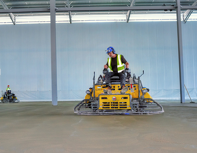 Industrial Concrete Finishing In Edinburgh