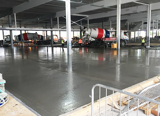 concrete floors Greenwich