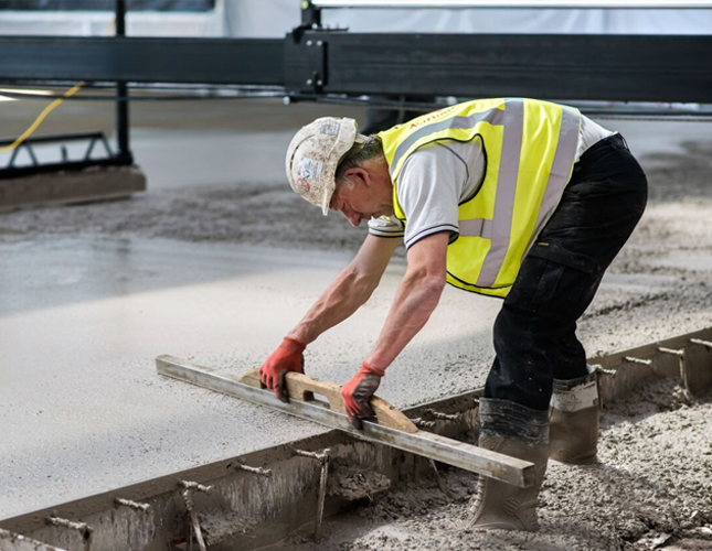 High Tolerance Concrete Flooring Contractors in Edinburgh