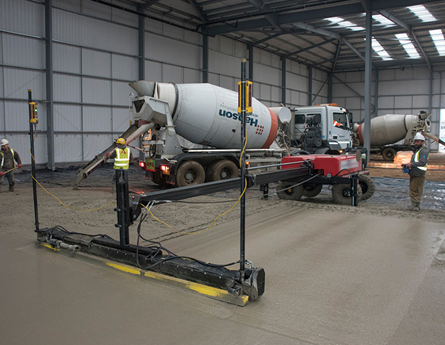 High Tolerance Concrete Flooring Contractors in Swansea