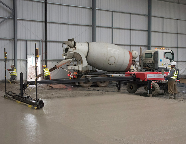 High Tolerance Concrete Flooring Contractors in Swindon