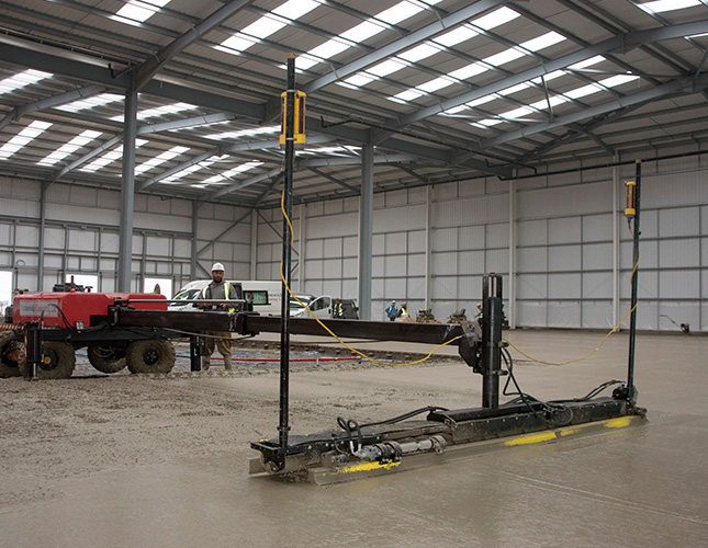 Industrial Concrete Finishing In Norwich