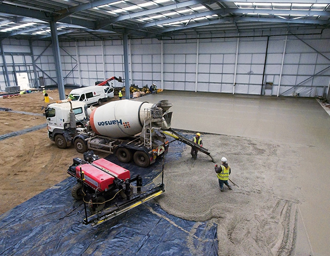High Tolerance Concrete Flooring Contractors in Peterborough