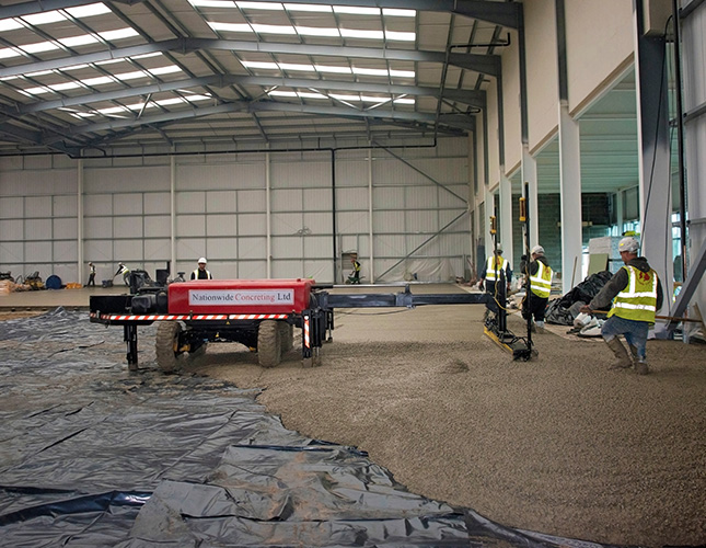 High Tolerance Concrete Flooring Contractors in Portsmouth