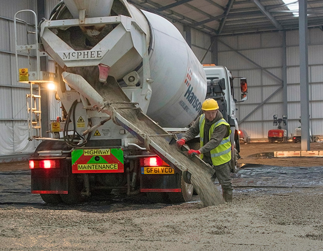 Industrial Concrete Finishing In Newport