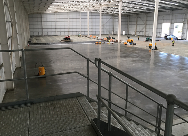 concrete floors belvedere