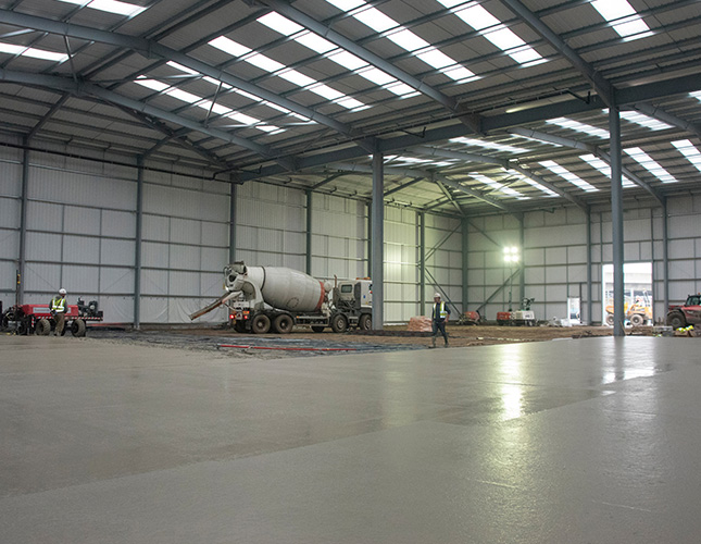 concrete warehouse flooring